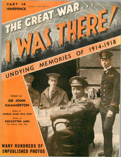 View individual pages of 'The Great War, I was there - Part 14'