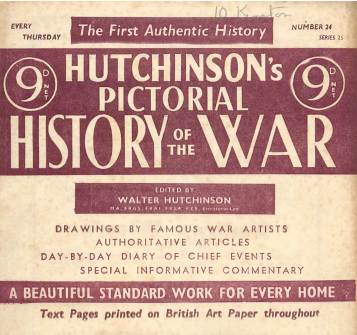 View individual pages of 'Hutchinson's Pictorial History of the War, Series 25, No 24'
