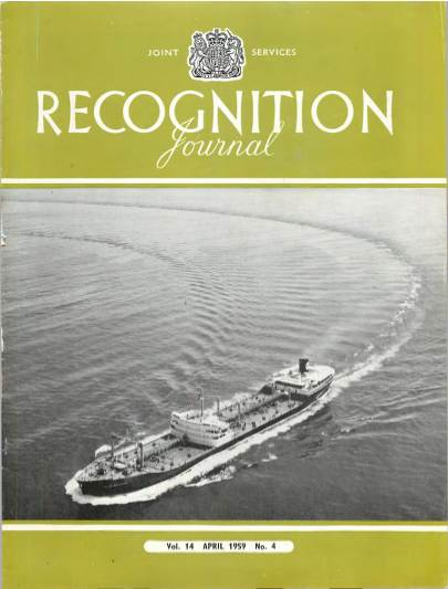 View individual pages of 'Recognition Journal, Volume 14 No. 4 April 1959'