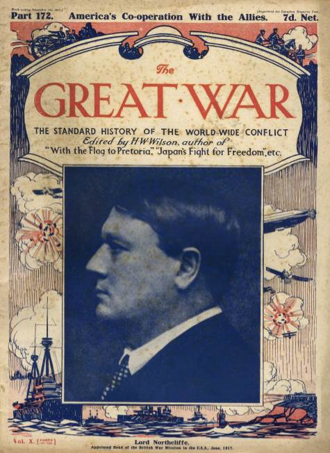 View individual pages of 'The Great War Part 172, December 1st 1917'