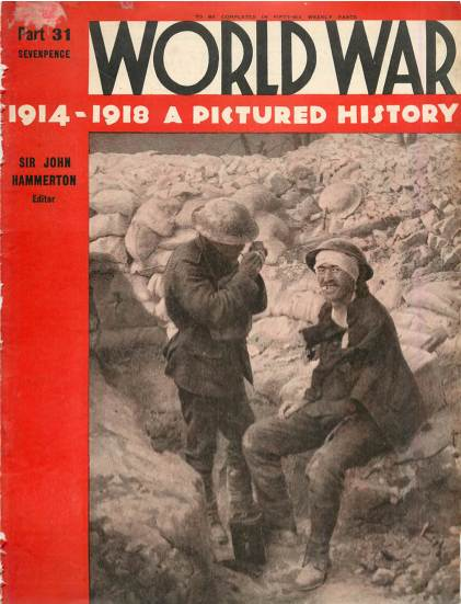 View individual pages of 'World War 1914 - 1918 A Pictured History Part 31'