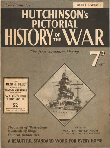 View individual pages of 'Hutchinson's Pictorial History of the War, Series 6 No. 4'