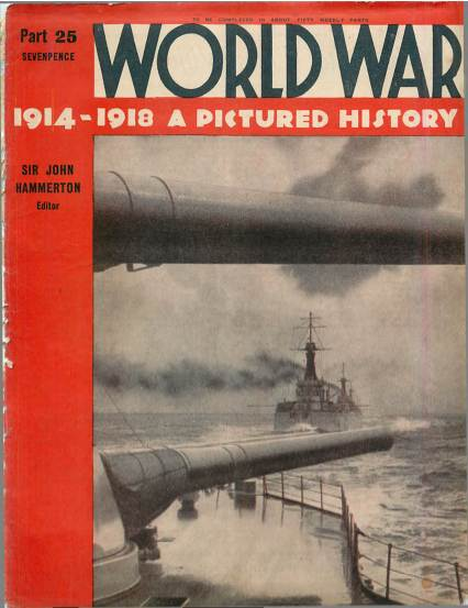 View individual pages of 'World War 1914 - 1918 A Pictured History Part 25'