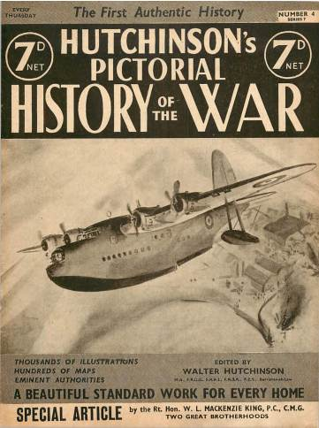 View individual pages of 'Hutchinson's Pictorial History of the War, Series 7 No. 4'