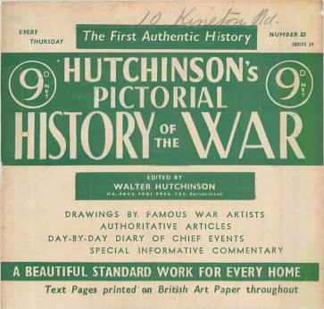 View individual pages of 'Hutchinson's Pictorial History of the War, Series 24 No. 23'