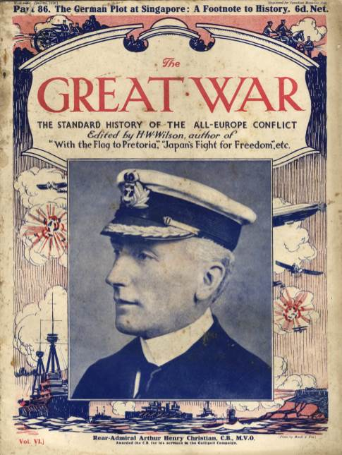 View individual pages of 'The Great War Part 86, April 8th 1916'