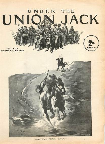 View individual pages of 'Under The Union Jack, No. 5, Vol. 1, December 9th 1899'