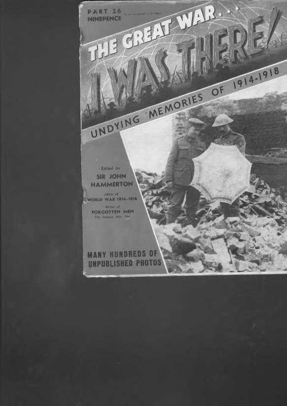 View individual pages of 'The Great War, I was there - Part 26'