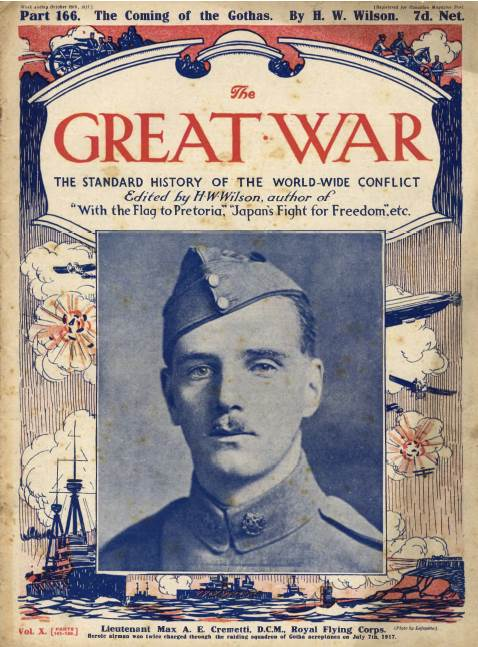 View individual pages of 'The Great War Part 166, October 20th 1917'