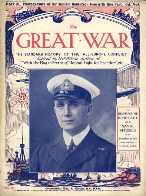 View individual pages of 'The Great War Part 81, March 4th 1916'
