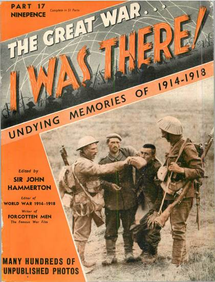 View individual pages of 'The Great War, I was there - Part 17'