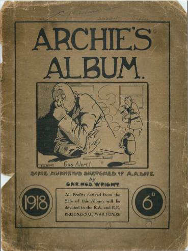 View individual pages of 'Archie's Album'