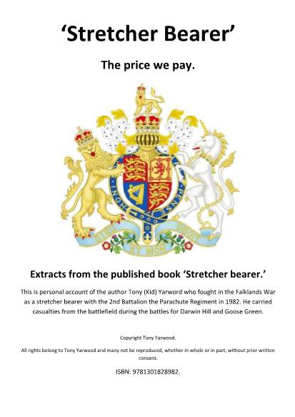 View individual pages of ''Stretcher Bearer' The price we pay.'