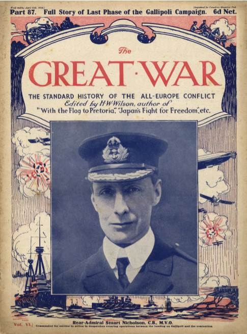 View individual pages of 'The Great War Part 87, April 15th 1916'