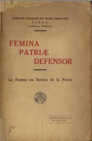 View individual pages of 'Femina Patriae Defensor'