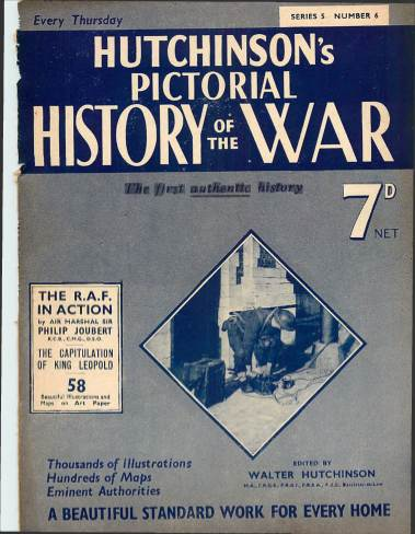 View individual pages of 'Hutchinson's Pictorial History of the War, Series 5 No. 6'
