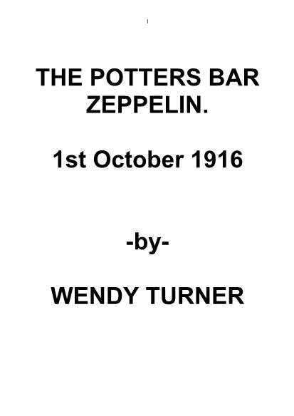 View individual pages of 'THE POTTERS BAR ZEPPELIN'