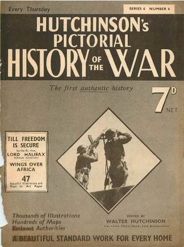 View individual pages of 'Hutchinson's Pictorial History of the War, Series 6 No. 6'