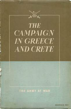 View individual pages of 'The Campaign in Greece and Crete'