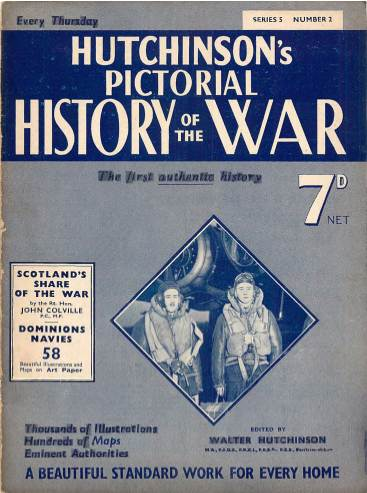 View individual pages of 'Hutchinson's Pictorial History of the War, Series 5 No. 2'