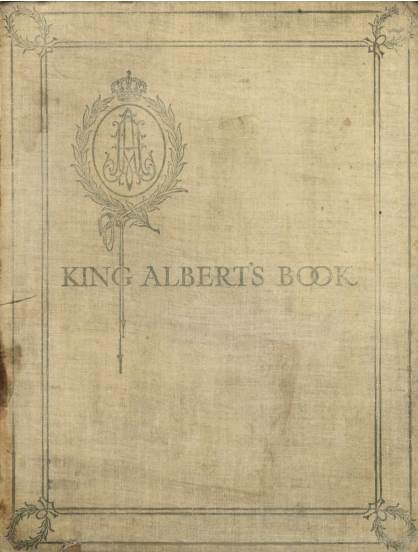 View individual pages of 'King Albert's Book'