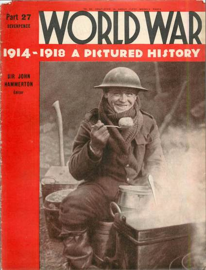 View individual pages of 'World War 1914 - 1918 A Pictured History Part 27'