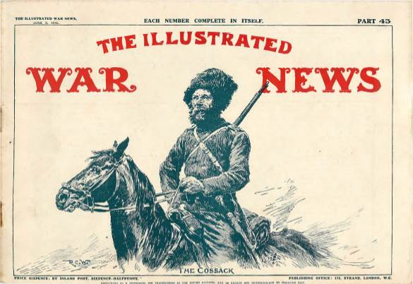 View individual pages of 'The Illustrated War News, Part 43, June 2nd 1915'