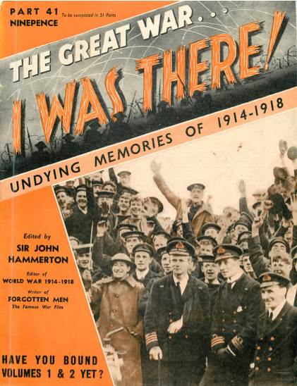 View individual pages of 'The Great War, I was there - Part 41'
