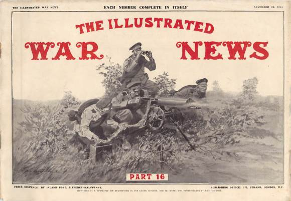 View individual pages of 'The Illustrated War News, Part 16, November 25th 1914'