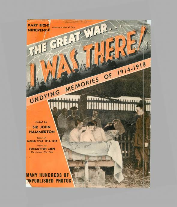 View individual pages of 'The Great War, I was there - Part 8'
