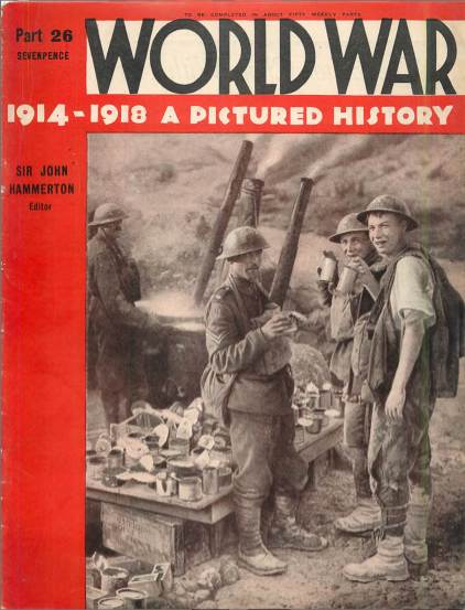 View individual pages of 'World War 1914 - 1918 A Pictured History Part 26'