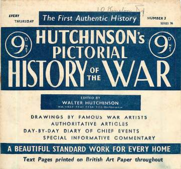 View individual pages of 'Hutchinson's Pictorial History of the War, Series 26, No 3'