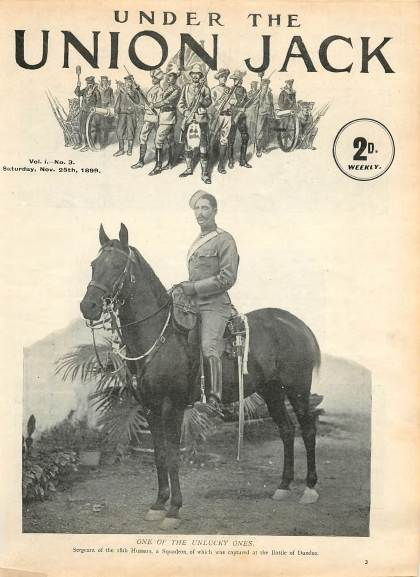 View individual pages of 'Under The Union Jack, No. 3, Vol. 1, November 25th 1899'