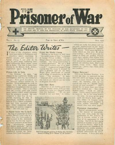 View individual pages of 'The Prisoner of War  No 13 Vol 2 May 1943'