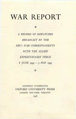 View individual pages of 'BBC War Report 6.6.44 - 5.5.45'
