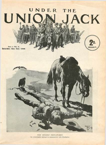 View individual pages of 'Under The Union Jack, No. 4, Vol. 1, December 2nd 1899'