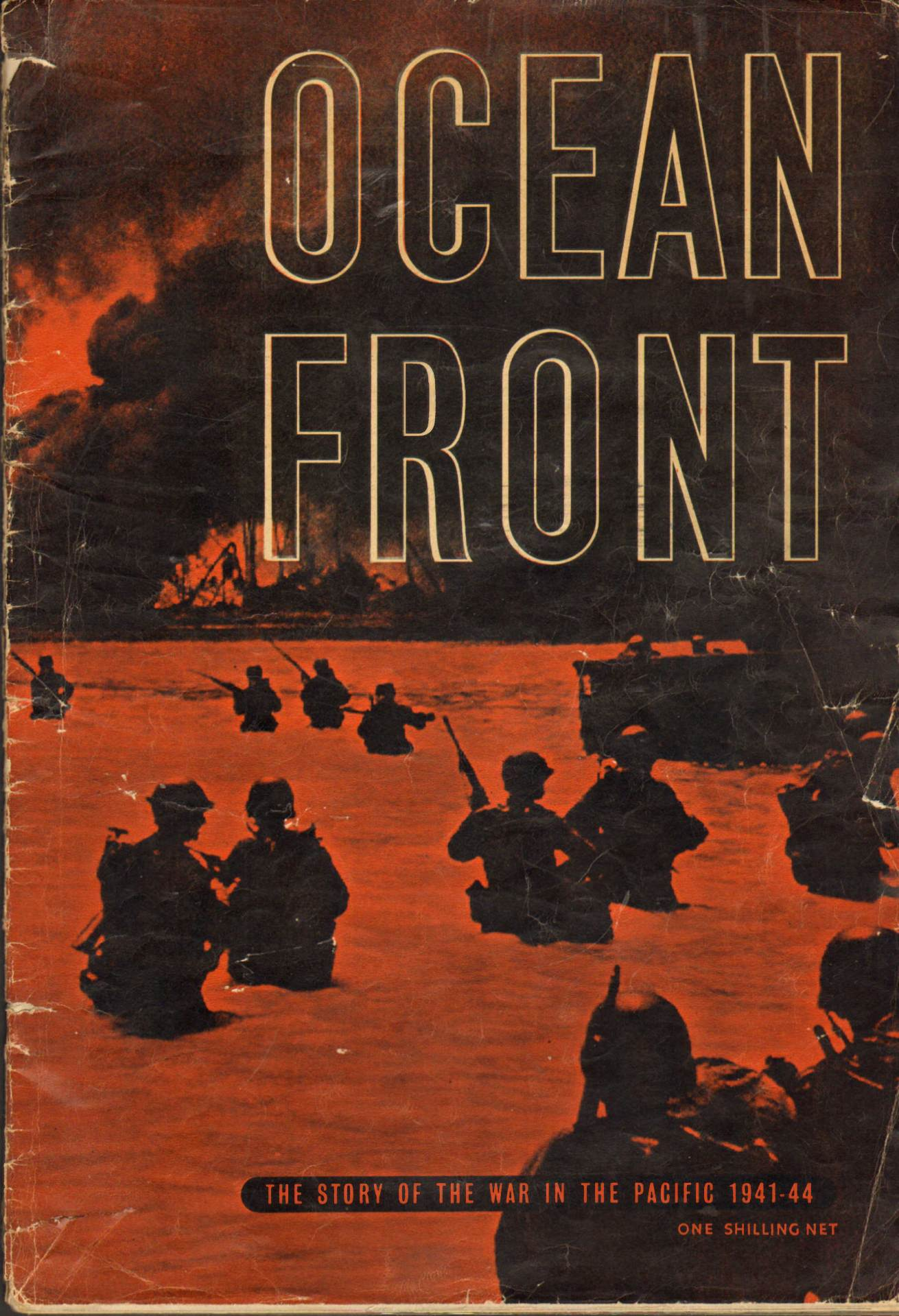 View individual pages of 'Ocean Front, The Story of the War in the Pacific 1941-44'