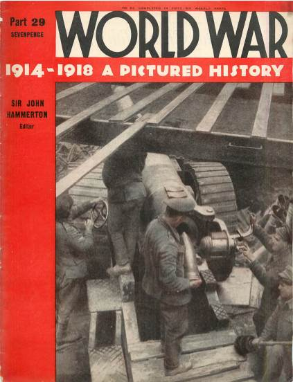 View individual pages of 'World War 1914 - 1918 A Pictured History Part 29'