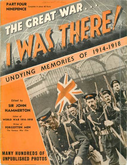 View individual pages of 'The Great War, I was there - Part 4'