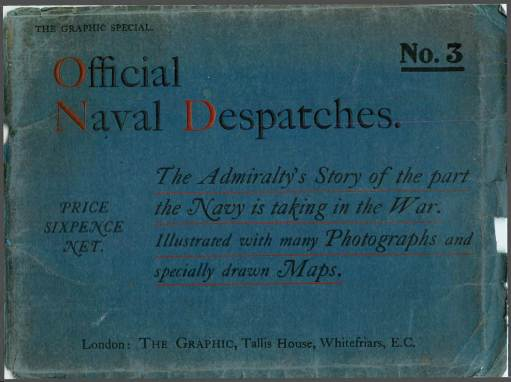 View individual pages of 'Official Naval Despatches No.3'