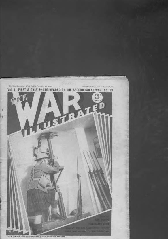 View individual pages of 'The War Illustrated  No 13 Vol 1 December 9th 1939'