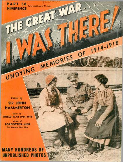 View individual pages of 'The Great War, I was there - Part 38'