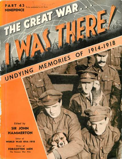 View individual pages of 'The Great War, I was there - Part 43'