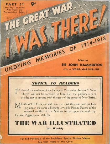 View individual pages of 'The Great War, I was there - Part 51'