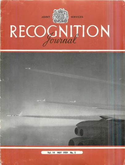 View individual pages of 'Recognition Journal, Volume 14 No. 5 May 1959'