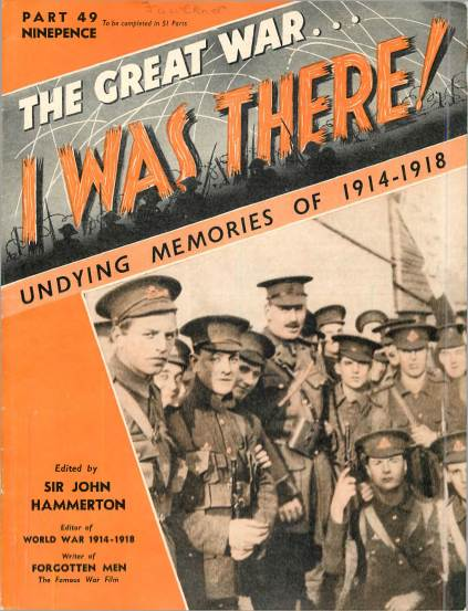 View individual pages of 'The Great War, I was there - Part 49'
