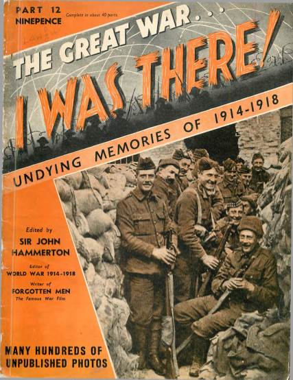 View individual pages of 'The Great War, I was there - Part 12'