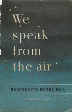View individual pages of 'We Speak from the Air - Broadcasts by the R.A.F.'