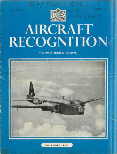 View individual pages of 'Aircraft Recognition No. 3, Vol. 1'