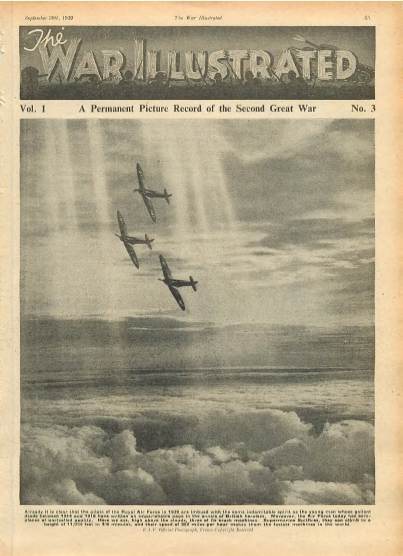 View individual pages of 'The War Illustrated  No 3 Vol 1 September 30th 1939'